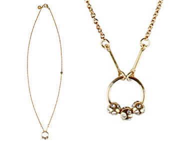 Necklace - Arianne Infinity Circle - Gold