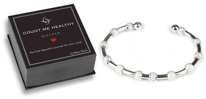 While the Mommy & Me is for new moms or moms-to-be, our new Mother Bracelet tracks goals of the more established mom.